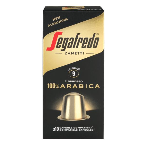 100% arabica by Segafredo